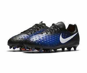 fca28b628c062 Details about Nike Magista Opus II FG Kid's Soccer Cleats Youth Shoes  844415 blue neon $55