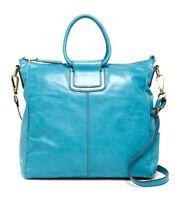 Hobo International Sheila Turquoise Crossbody Convertible Handbag $298