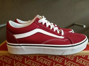 Details about NEW IN THE BOX VANS OLD SKOOL RUMBA REDWHITE VN0A38G1VG4 FOR MEN
