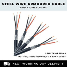SWA cable 6942X 2 core 2 x 35 mm² armoured cable cut to order price per metre