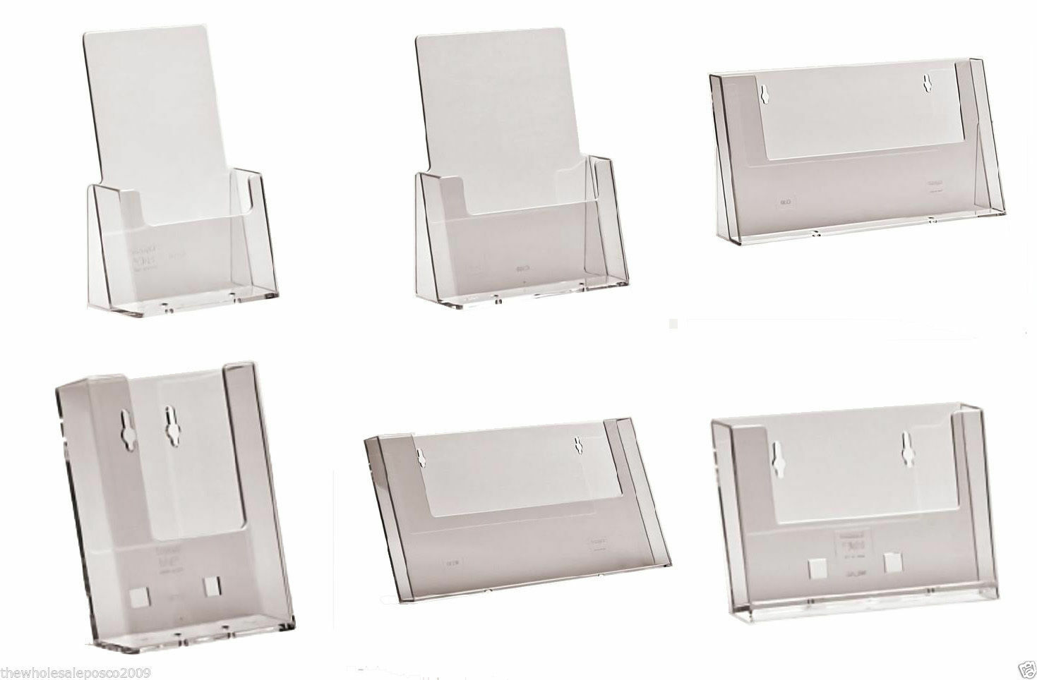 Counter Standing Wall Mounted Leaflet Holders Amp Business