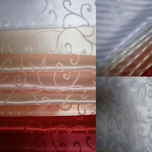 Tischdecken Stoff Jacquard Teflon Wasserabweisend Meterware Gardinen Dekostoff