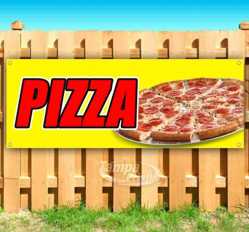 Pizza Advertising Vinyl Banner Flag Sign Many Sizes Available USA