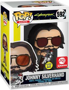 Funko Pop! Games: Cyberpunk 2077 - Johnny Silverhand Glow in the Dark Exclusive