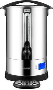 Catering Urn Electric Hot Water Boiler Commercial Stainless Steel 10 16 20 Litre