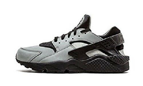 SZ 9 GREEN Men's NIKE AIR HUARACHE RUN PREMIUM MICA GREEN 9 BLACK SHOES 704830-301 4fa1c6
