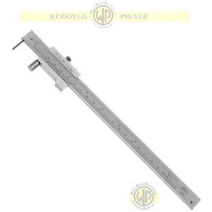 Anreissmessschieber-200-mm-mit-Rolle-Anreiss-Messschieber-Streichmass-Schieblehre