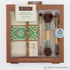 "1 ECOTOOLS Makeup Brush - Boho Luxe Duo Brush Set ""ET-1304""  *Joy's cosmetics*"