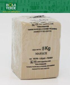 Il Mastice Del Vetraio.Dettagli Su Mastice Per Vetro Stucco Per Vetri Vetraio Falegname Da Kg 5 Cod 4370