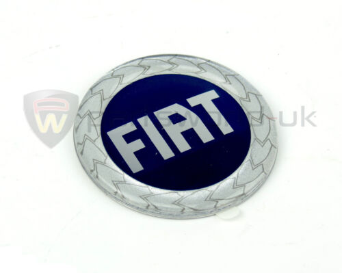 Remplacement FIAT cabochon roue alliage /& Enjoliveur de roue badge 50mm véritable 46757885