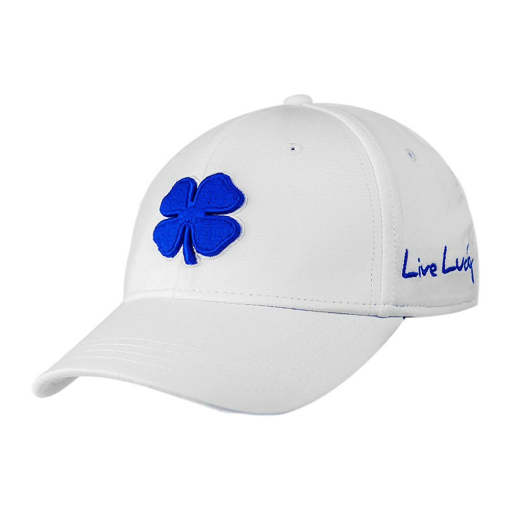 Black Clover Blue/White Style 9 S/M Premium Fitted Hat - S/M 9 b67b25