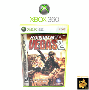 Tom-Clancy-039-s-Rainbow-Six-Vegas-2-Xbox-360-Game-Case-amp-Manual-Disc-Tested-Works