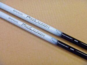 Expressif Grafalloy Prolaunch Axe Blanc Conducteur Ou Fairway Shaft Avec Adaptateur + Grip-afficher Le Titre D'origine Non Repassant