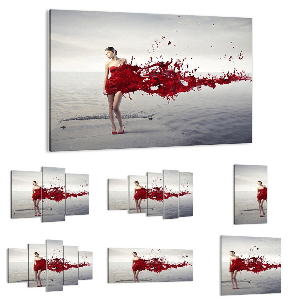 IMAGE SUR TOILE Cadre Femme modèle posant nue 2633 FR