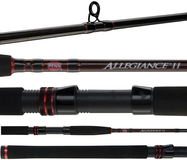 Penn Allegiance II Surf Beach Series 2 Piece Spin Fishing Rod 9'8-12kg