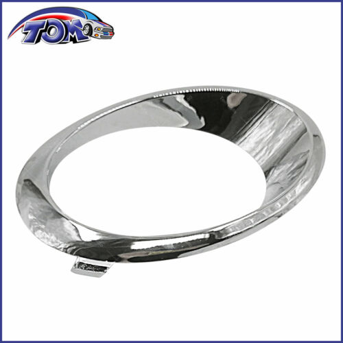 DRIVER SIDE LH FOG LIGHT BEZEL CHROME TRIM RING FOR FORD FUSION 2013-2016