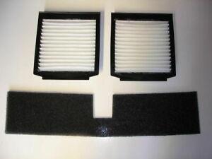 Charitable Mousse Et Filtre à Pollen Kit Pour Range Rover P38 Btr9548 & 2x Lr030219-afficher Le Titre D'origine