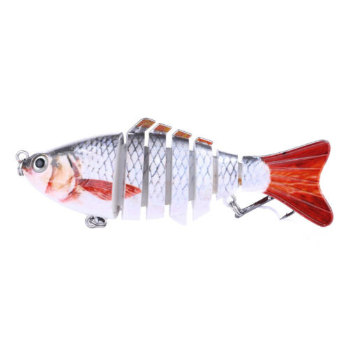 1pc Minnow Fishing Lures jointed swimbait fishing wobbler Bass Crankbaits Tackle