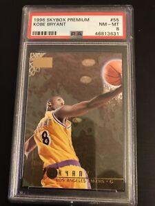 1996-Skybox-Premium-55-Kobe-Bryant-Lakers-RC-Rookie-HOF-PSA-8-NM-MT