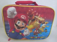 Super Mario Soft Lunch Box Mario Bowser Bag Kit