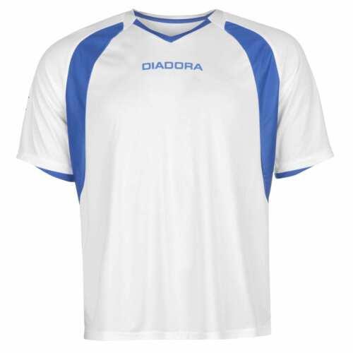 DIADORA Da Uomo BRASILIA T Shirt Baselayer Top Compressione a T armatura termica Skins