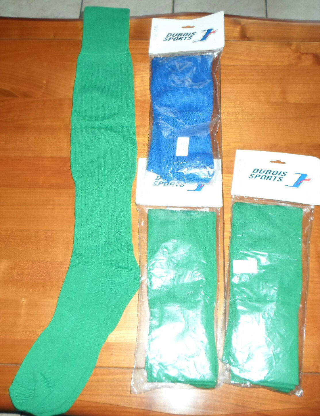 4 XL PAIRES CHAUSSETTES FOOTBALL