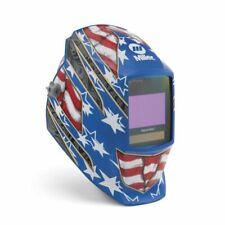 Miller Electric Digital Soldering Helmet Elite Stars And Stripes Iii 281002