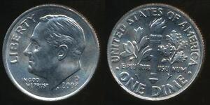 United-States-2003-D-Dime-Roosevelt-Uncirculated