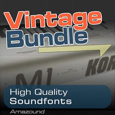 M1 + 01W + X5 SOUNDFONT COLLECTION BUNDLE 400  sf2 FILES 5424 SAMPLES 3 8GB    eBay