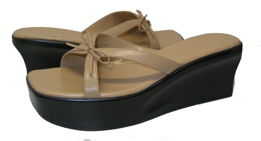 Jennifer Moore Music Camel 9.5 Women Sandal Size 9.5 Camel M 2b6791