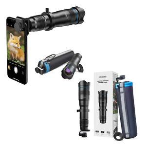 Apexel-Mobile-Smartphone-Camera-Lens-Tele-36X-Metal-Telescope-Lens-Monocular