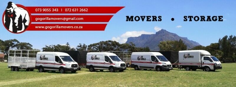 Go Gorilla Movers, Moving company, Removals, Storage, Office removals, Home removals