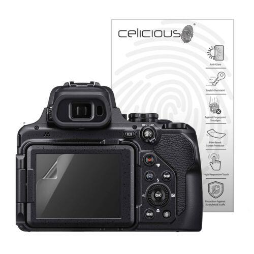 paquete de 2 Celicious Mate Nikon Coolpix P1000 Protector de Pantalla Antirreflejo