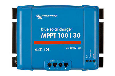 Heimwerker Diligent Regulator Charge Solar Mppt 30a 12/24v Bluesolar Victron 100/30 Aromatic Character And Agreeable Taste Solarenergie