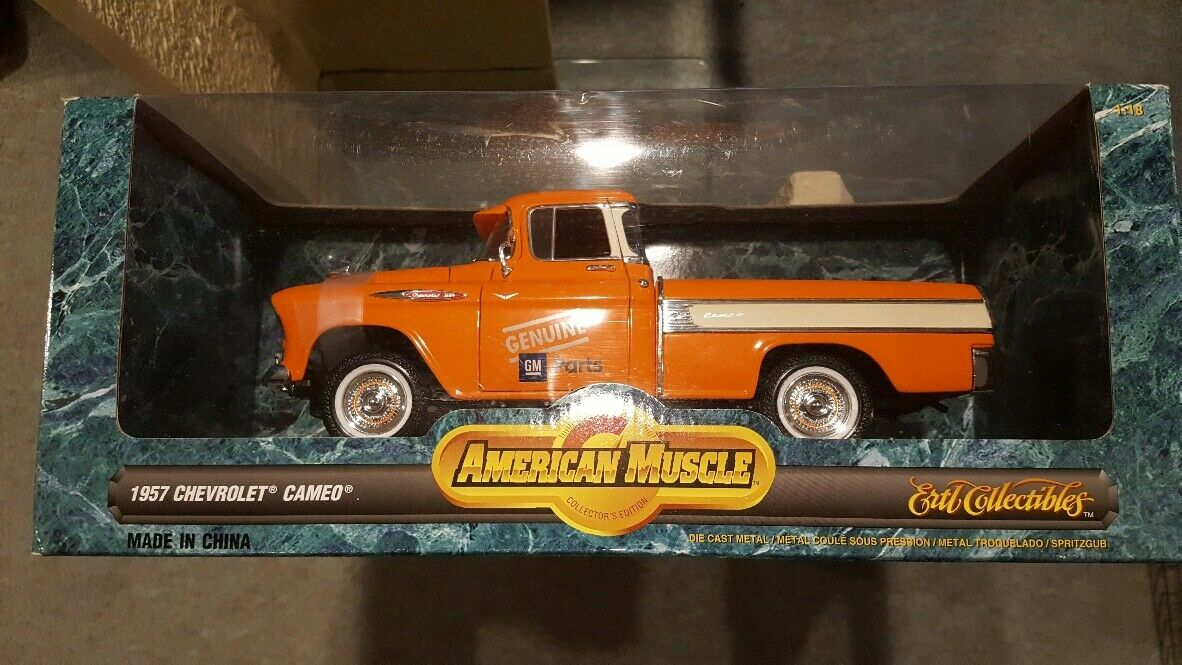 1957 Chevrolet Cameo Pickup 1 18 Ertl American Muscle Genuine GM Parts