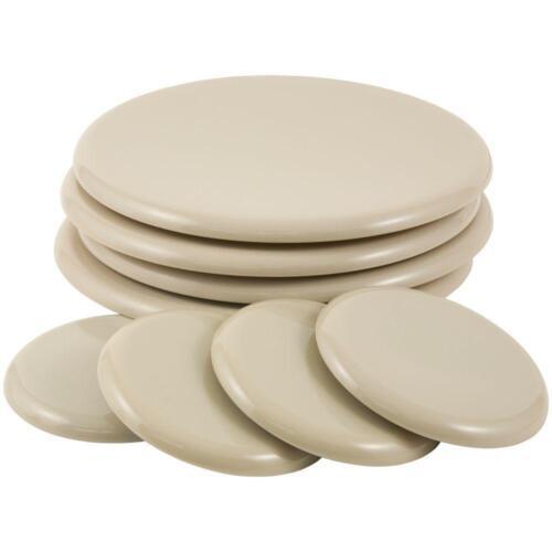 "4 Pieces Self Stick Furniture Sliders 3 1//2 /"" Round"