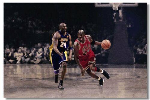 Michael Jordan MJ 23 MVP ultimo scatto UTAH Basket stelle poster stampa 536