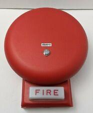 Wheelock 46t G6 24 Ws Red Bell Strobe Combo Fire Alarm Notification