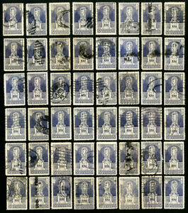 US-Stamps-628-VF-Used-Lot-of-60-Many-XF-Scott-Value-195-00