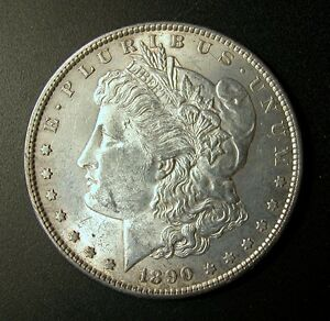 Image Is Loading 1890 S Morgan Silver Dollar Price Reduced