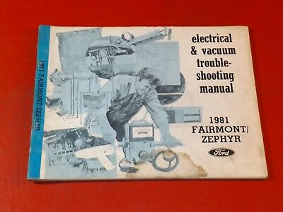 1979 FORD FAIRMONT MERCURY ZEPHYR WIRING DIAGRAMS MANUAL SCHEMATICS SHEETS  SET archives.midweek.comMidweek.com