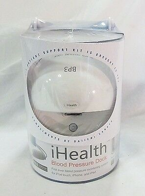 iHealth BP3 blood pressure monitor dock for iphone ipad ipod touch NEW
