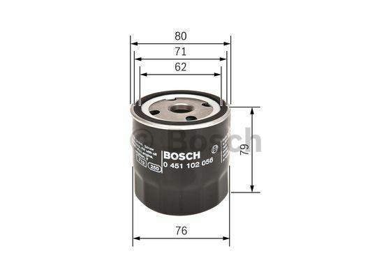 Ölfilter BOSCH 0 451 102 056