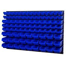 Stapelboxen Wandregal Box Sichtlagerkästen Schüttenregal Lagersystem 93 Boxen