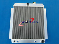Aluminum Radiator For 1948-1954 Chevy Pickup Truck At/mt 1949 1950 51 52 53 54