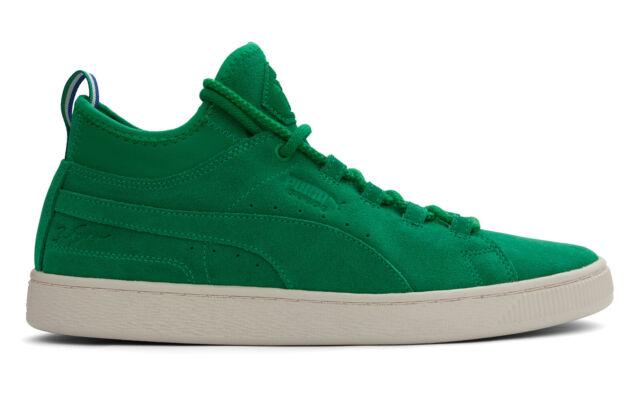 Puma Suede Mid BIG SEAN shoes green