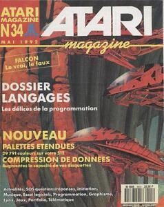 Atari Magazine N°34 33725 : Dossier Langages