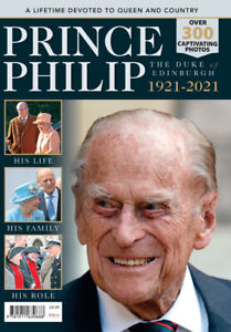 PRINCE PHILIP 1921 - 2021 A lifetime devoted to Queen & Country NEW RRP £8.99