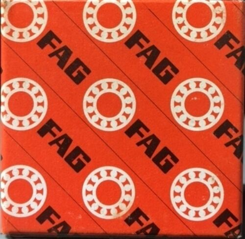 FAG 6202ZS SINGLE ROW BALL BEARING