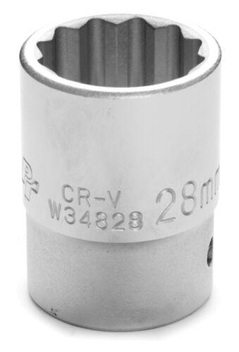 "Performance Tool 3//4/"" Dr 28mm 12pt Socket W34828"